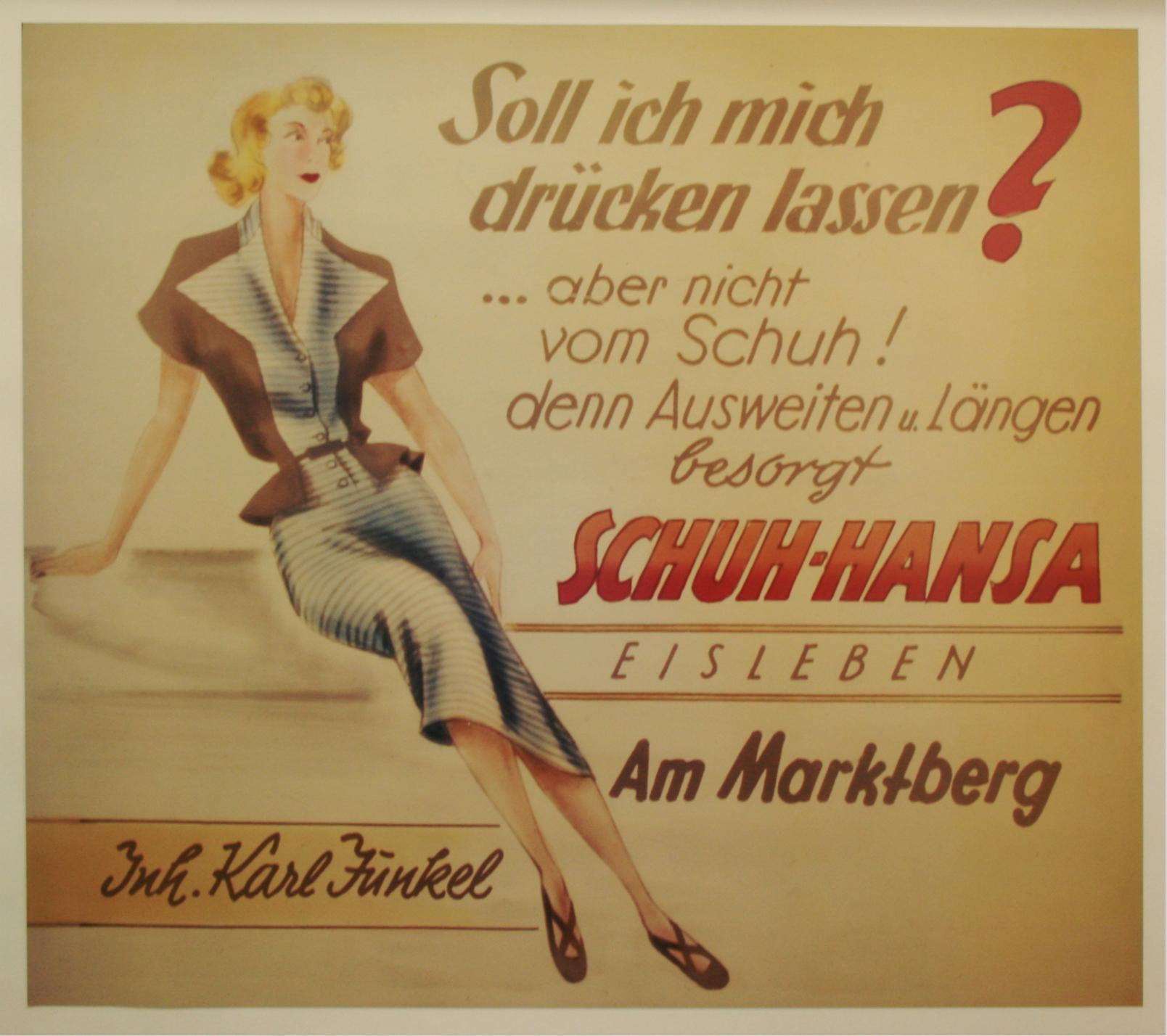 Historische Werbung