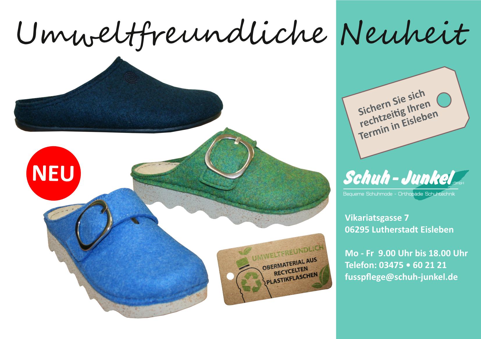 Umweltfreundliche Neuheiten - Schuhe aus recycelten Plastikflaschen